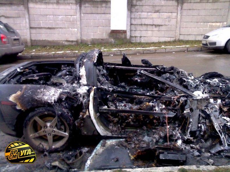 Corvette burned down in Ukraine, Russia 6