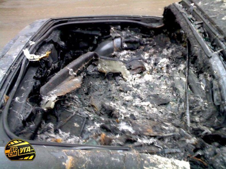 Corvette burned down in Ukraine, Russia 7