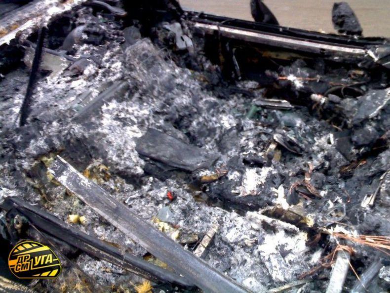 Corvette burned down in Ukraine, Russia 8