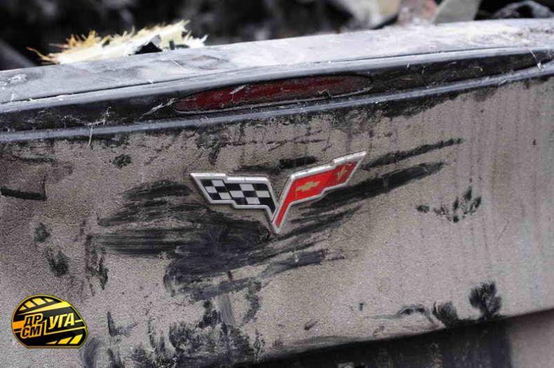 Corvette burned down in Ukraine, Russia 12