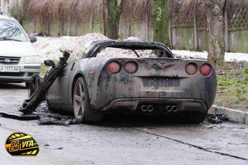 Corvette burned down in Ukraine, Russia 14