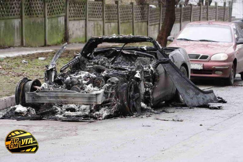 Corvette burned down in Ukraine, Russia 15