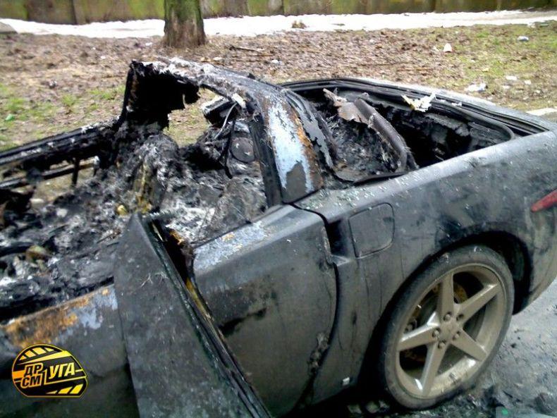 Corvette burned down in Ukraine, Russia 17