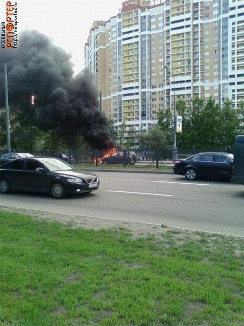 Russian ferrari got burned down 2