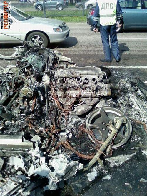 Russian ferrari got burned down 27