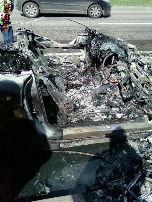 Russian ferrari got burned down 28