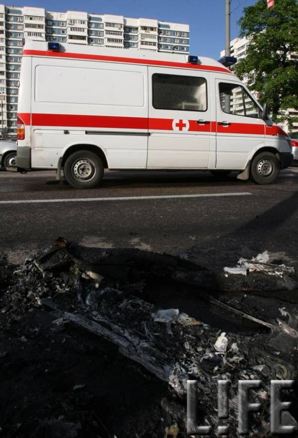 Russian ferrari got burned down 29