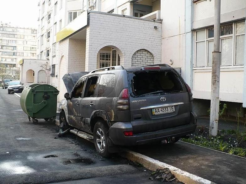 Russian toyota burned down 3