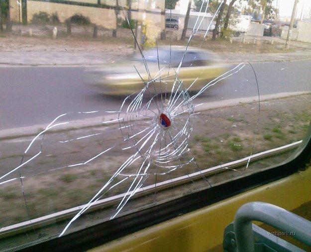 bus shot in Russia 2