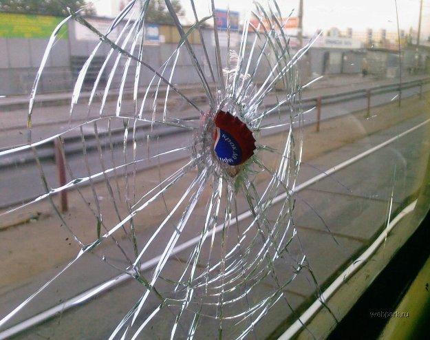 bus shot in Russia 3