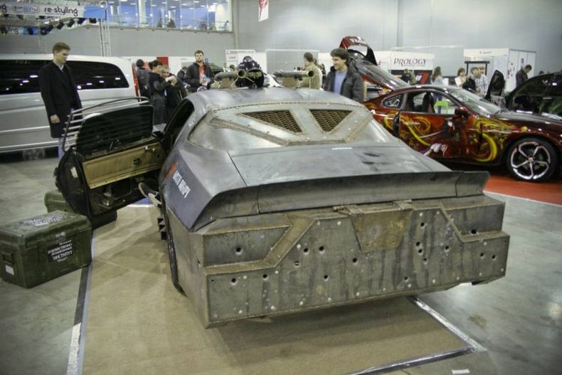 Chevrolet Camaro Mad Max style 1