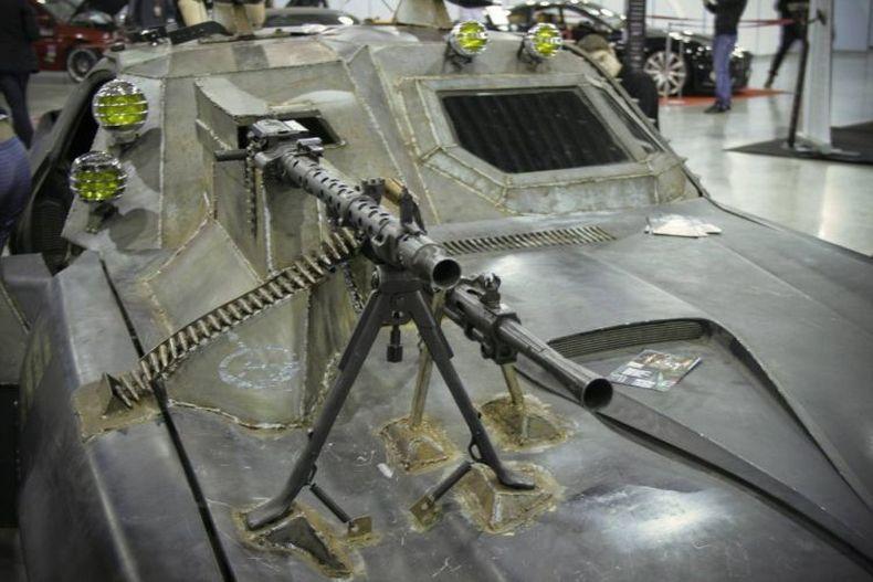 Chevrolet Camaro Mad Max style 4