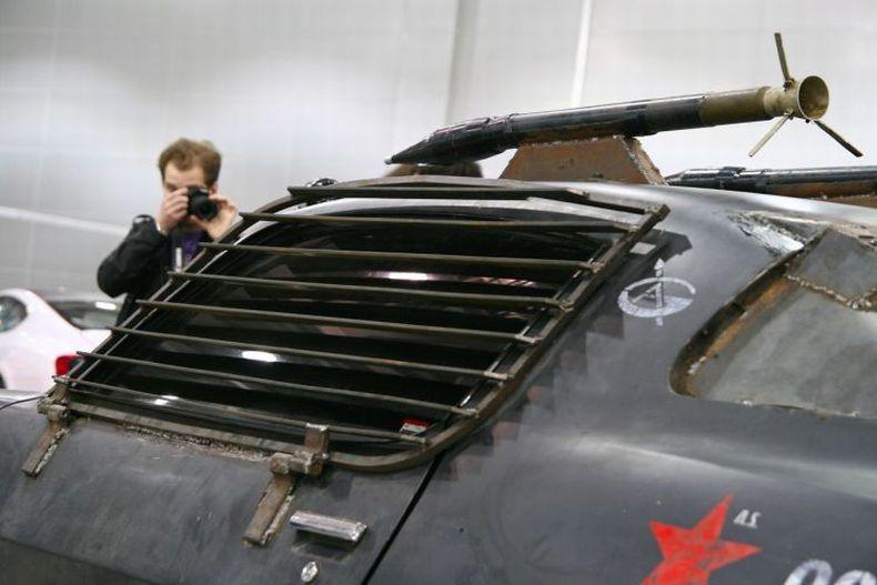 Chevrolet Camaro Mad Max style 14