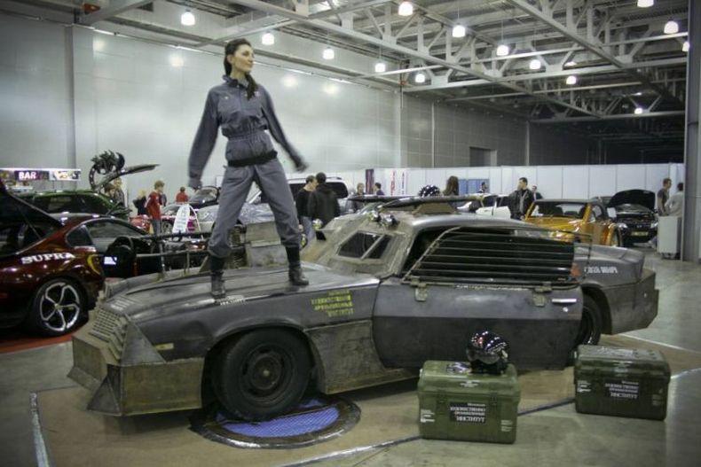 Russian Mad Max Style 2nd Gen Camaro