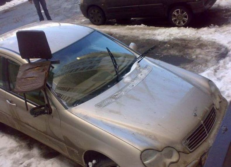 Spoiled cars in Russia 2