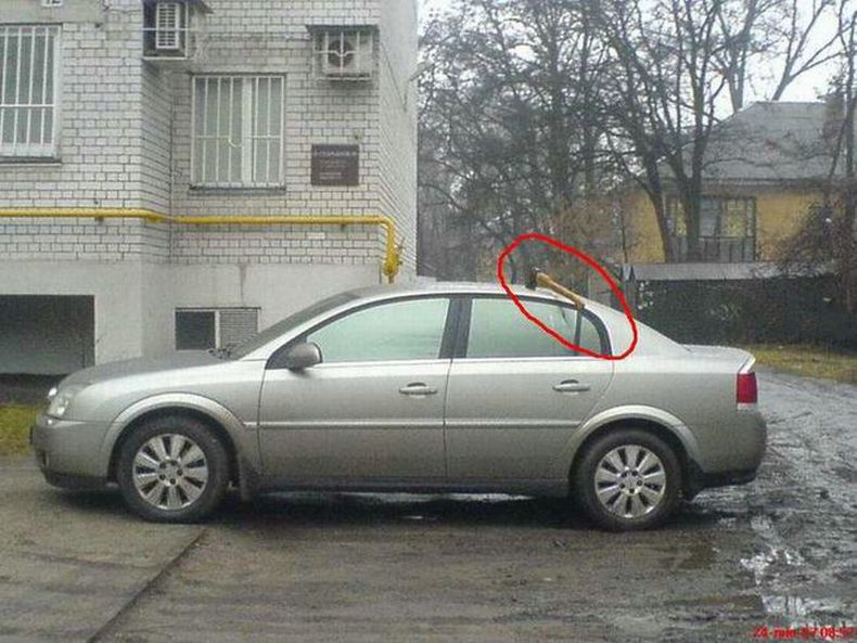 Spoiled cars in Russia 4