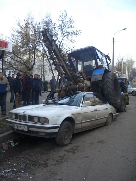 car transformers on russia streets 2