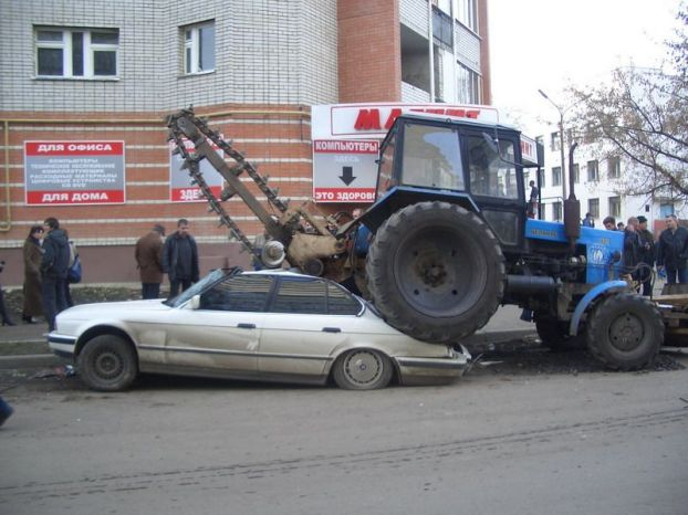 car transformers on russia streets 3