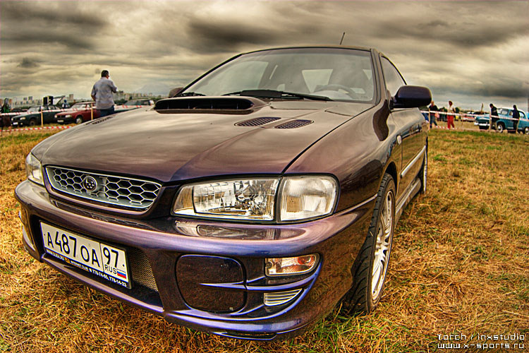 Russian car exhibition on HDR 43