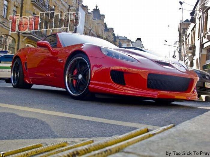 luxury cars in Kiev Ukraine