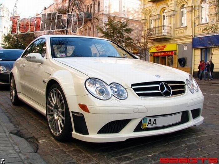 luxury cars in Kiev Ukraine 2