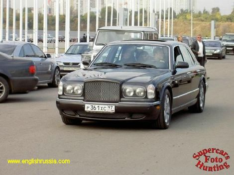 bentley in moscow, russia
