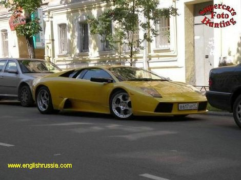 another lambo in moscow
