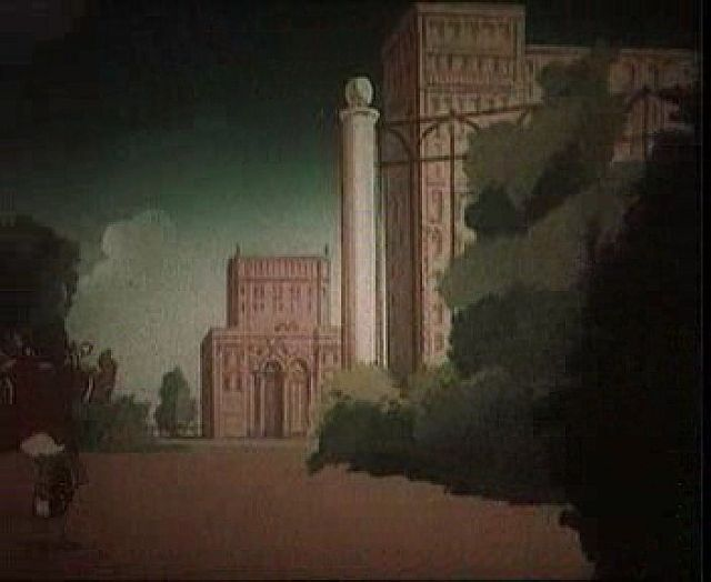 Russian architecture in cartoons 6