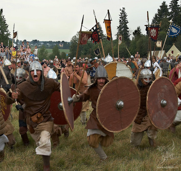 some medieval russian battle 3
