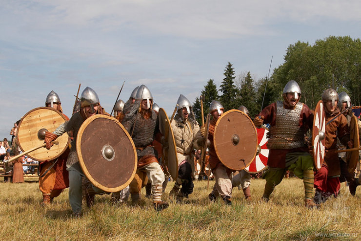 some medieval russian battle 9