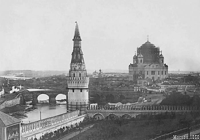 Russian Cathedral Was Blown Up 1