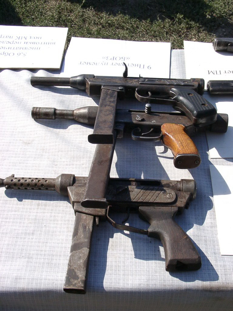 chechn self-made weapons 16