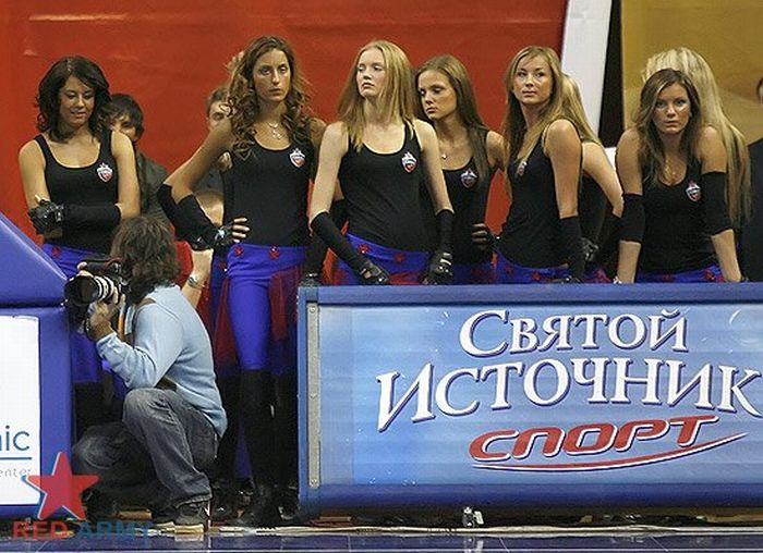 Russian Cheerleaders 3