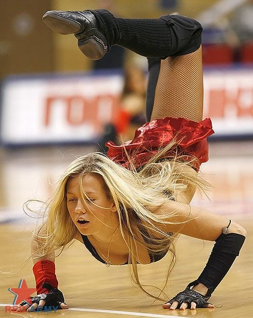 Russian Cheerleaders 8