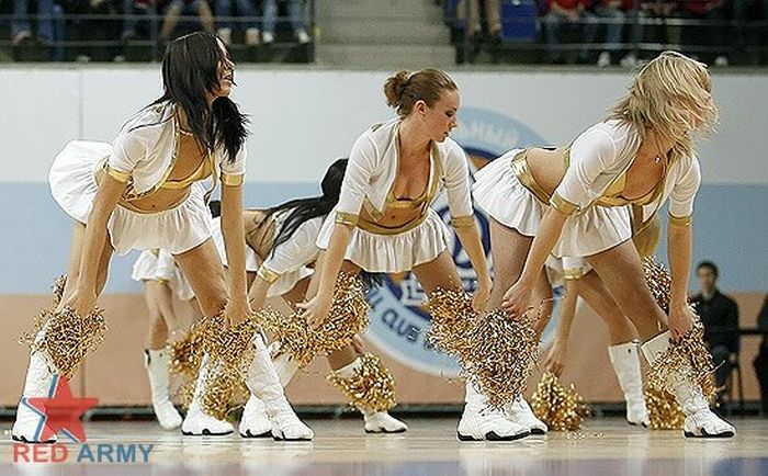 Russian Cheerleaders 15
