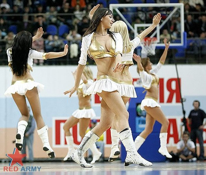 Russian Cheerleaders 16