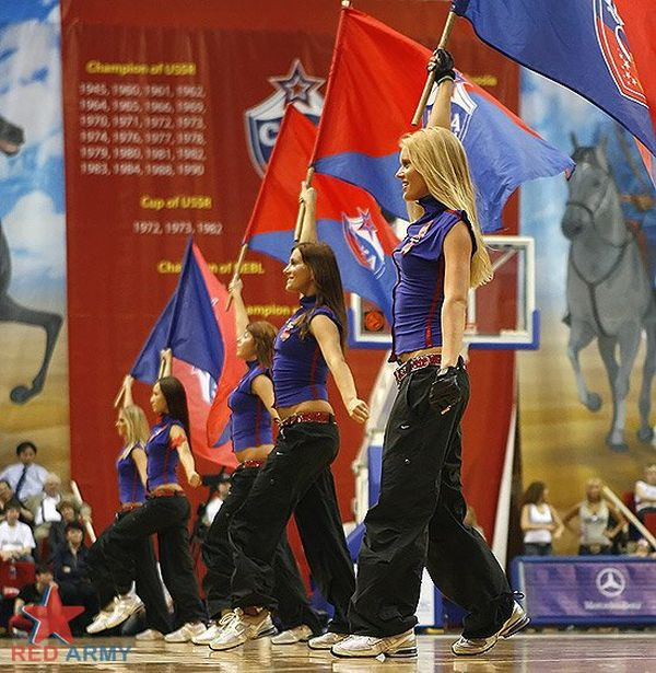 Russian Cheerleaders 24