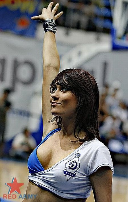 Russian Cheerleaders 26