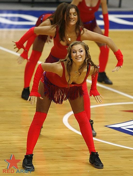 Russian Cheerleaders 36