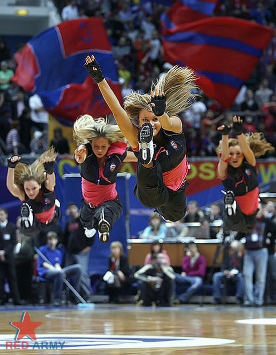 Russian Cheerleaders 38