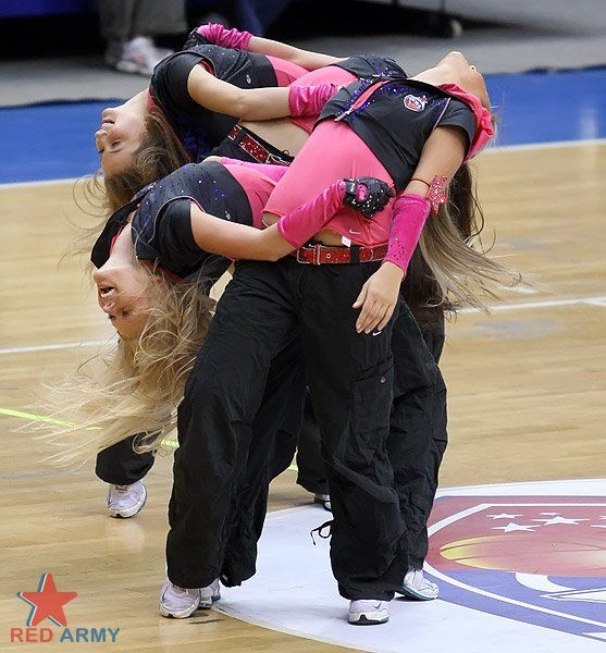Russian Cheerleaders 46