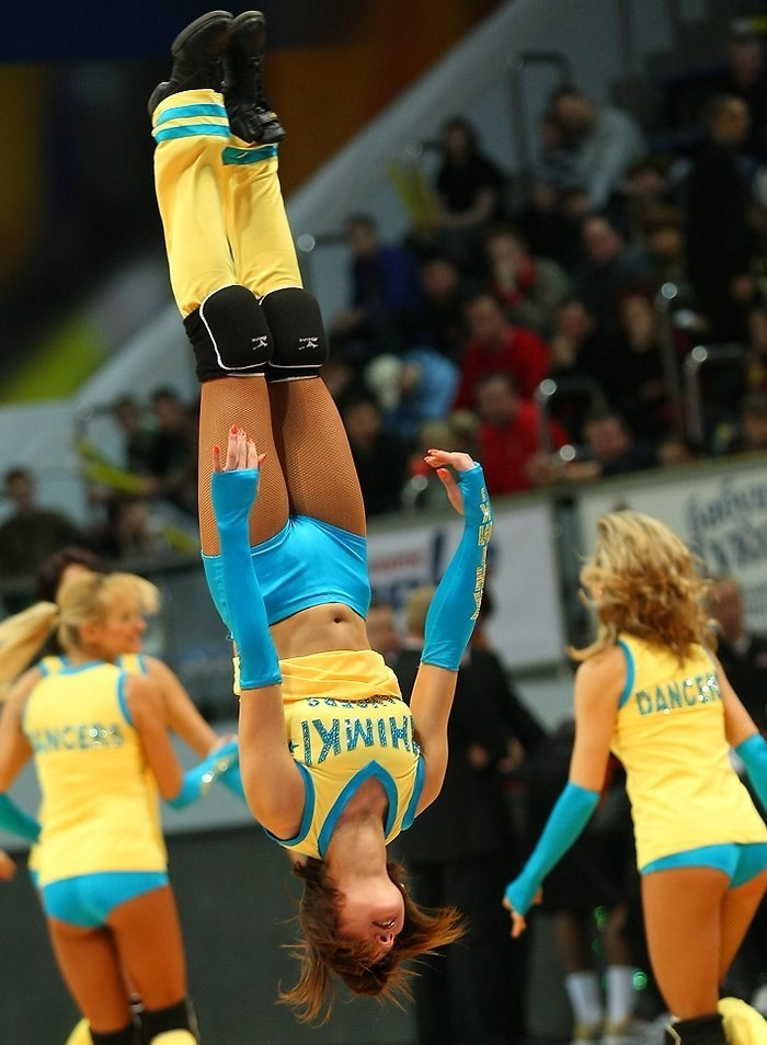 Russian cheerleading girls 1