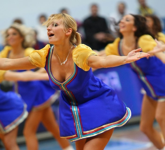 Russian cheerleading girls 2