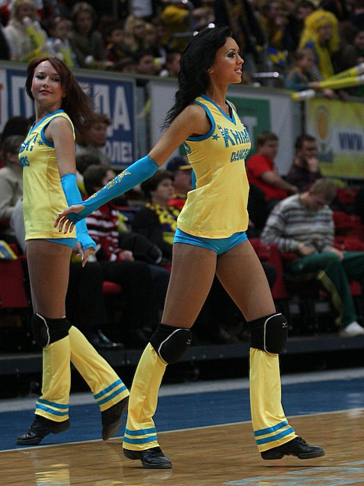Russian cheerleading girls 5