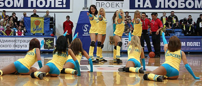Russian cheerleading girls 7