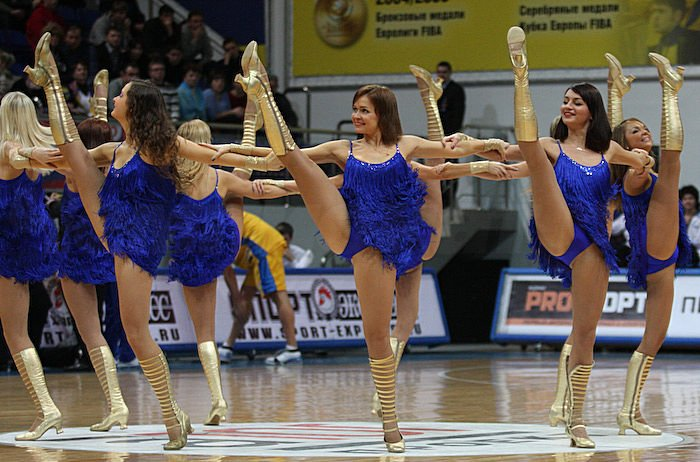 Russian cheerleading girls 19