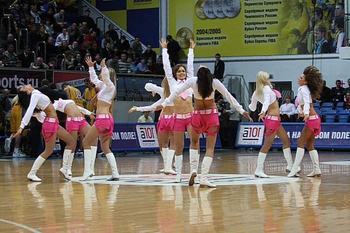 Russian cheerleading girls 22