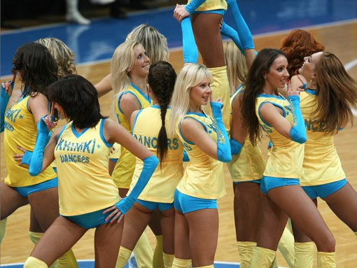 Russian cheerleading girls 55