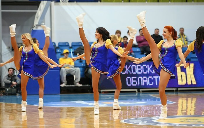 Russian cheerleading girls 74