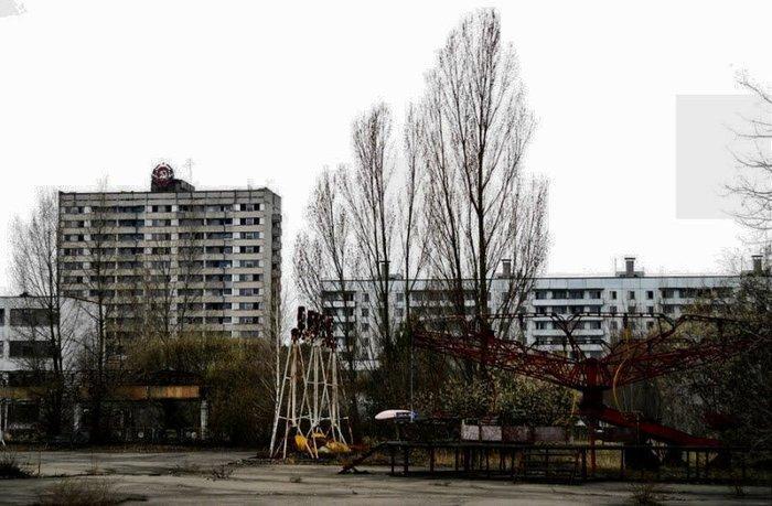 Dixieland Fun Park. Chernobyl Amusement Park